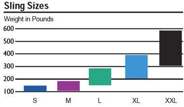 Sling Size Chart
