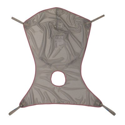 Invacare Comfort Sling w/ Commode - Net Fabric-Large