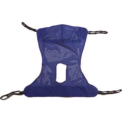 Invacare Full Body Sling w/ Commode -X-Large
