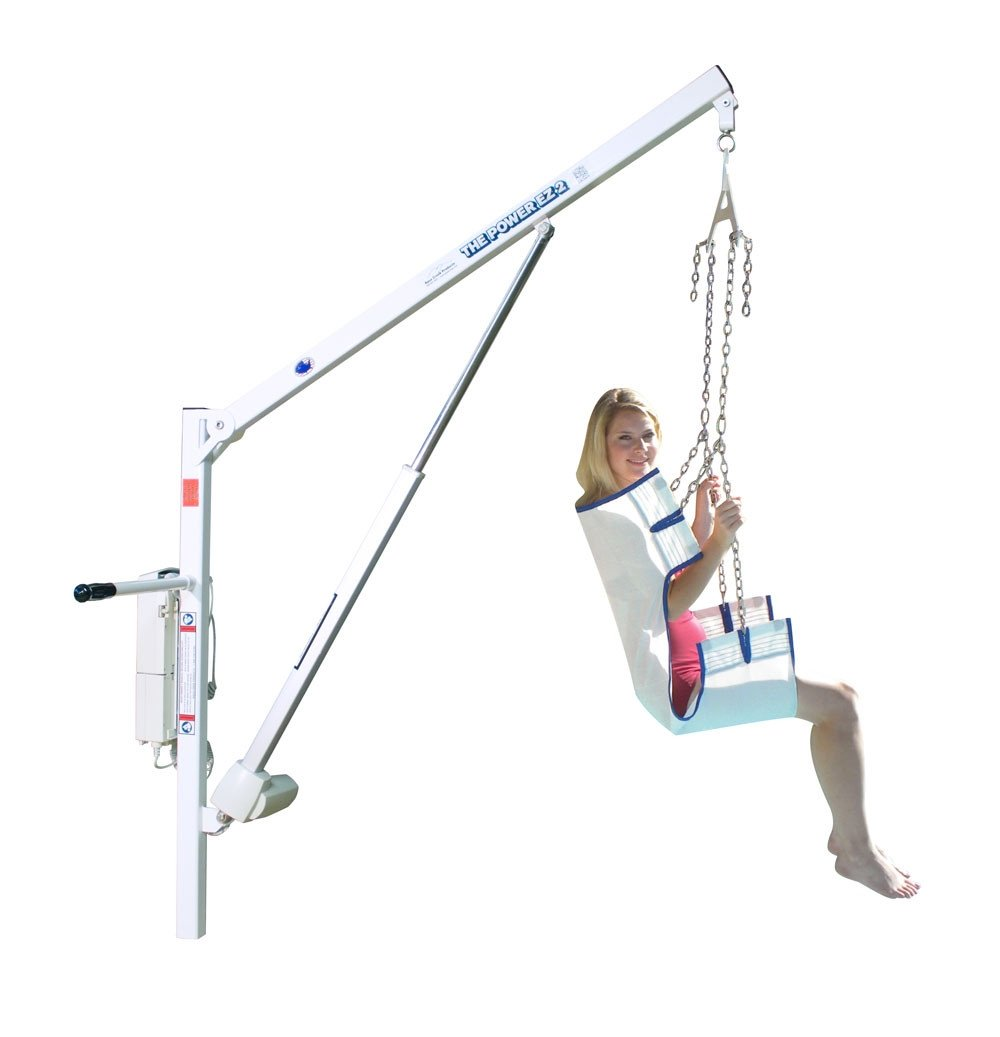 Aqua Creek EZ-2 Power Pool Lift / Boat Access Lift