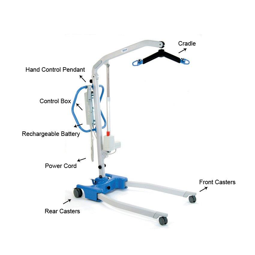HoyerPro Advance-E Portable Patient Lift Parts