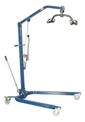 Lumex Patient Hydraulic Lift, Blue LF1030