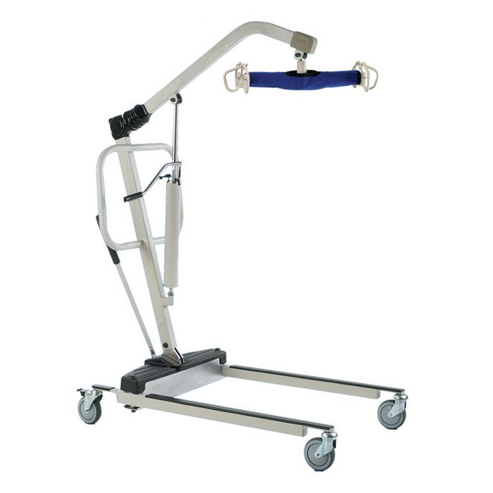 Invacare Reliant 450 Manual Hydraulic Patient Lift with Low Base
