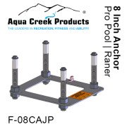 "Ranger/Pro Pool AT Anchor Kit, Pavers, 4-point w/jig & 8"" inserts"