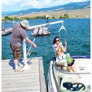 Aqua Creek EZ-2 Manual Pool Lift / Boat Access Lift - Dock / Boat Access